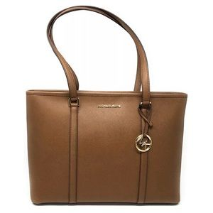 Michael Kors Sady Large Laptop Bag Brown